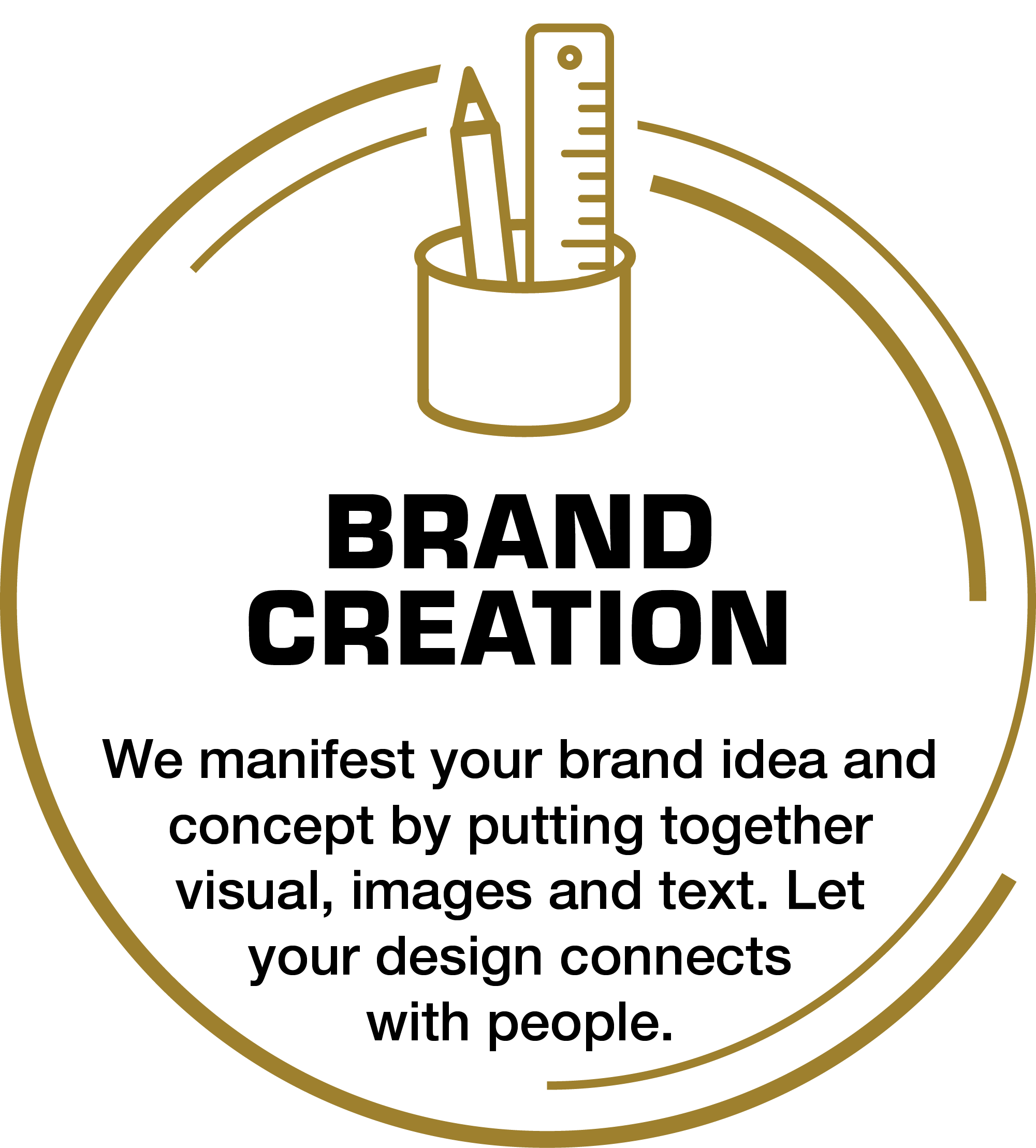 Deliver your brand in creative design