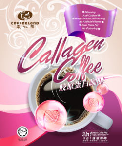 Coffeeland Collagen Coffee Poster