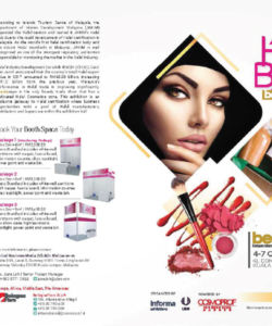 Halal Beauty Expo Poster