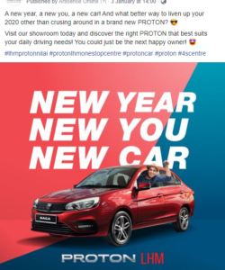 Proton LHM One Stop Centre 4s - Nilai Facebook Post