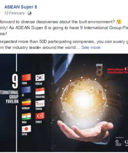 ASEAN Super 8 Facebook Post