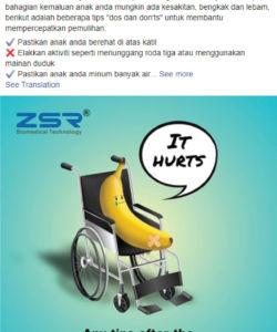 ZSR Malaysia Facebook Post